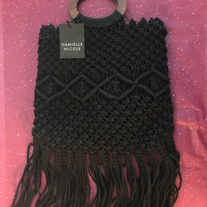 Danielle Nicole Macrame Handbag Box of Style